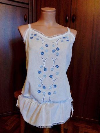 Agenda новая блузка 52 размер вышиванка 52 размер топ 52 размер
