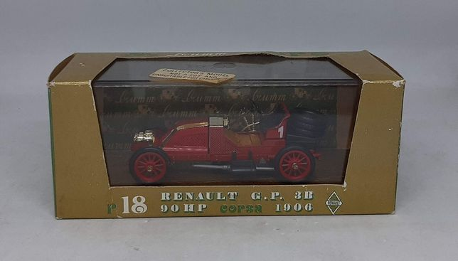 RENAULT G.P. 3B 90HP CORSA (1906) - Brumm r18 Made in Italy 1:43