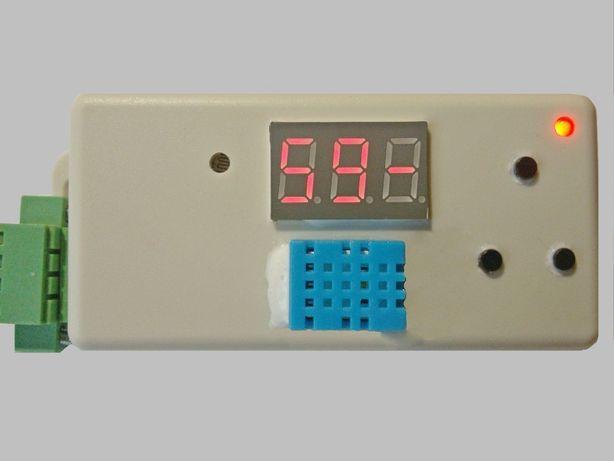 Реле времени Устройство управления вентилятором таймер датчик влажност