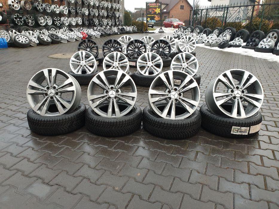 """Felgi aluminiowe MERCEDES 5X112 18"""" 8,5J ET48 VW SEAT SKODA AUDI ITP."""