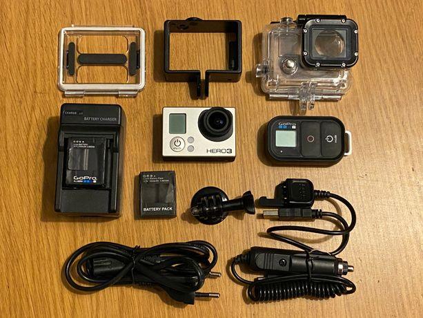 GoPro Hero3 Black pilot walizka dodatki