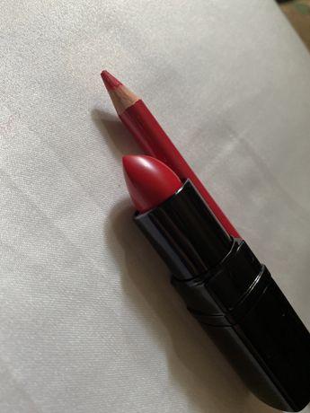 Набор Inglot Red Satin Makeup Set For Lips 300 грн