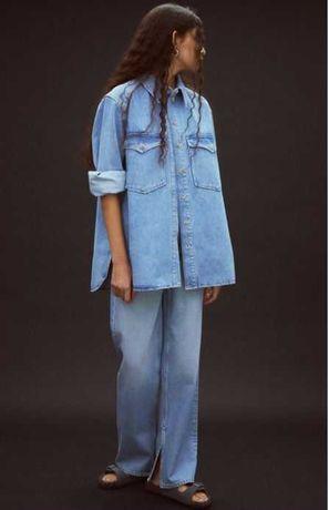 Новые джинсы и рубашка HM Trend ,Zara, Massimo Dutti,Cos,  размер 38.