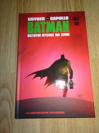 Batman - Ostatni rycerz na Ziemi. Tom 1.