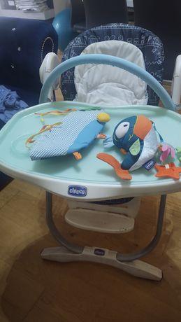 Fotelik dla dziecka do karmienia Chicco solidny sprawny Dowiozę