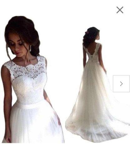 Piękna Suknia Ślubna 38(M)