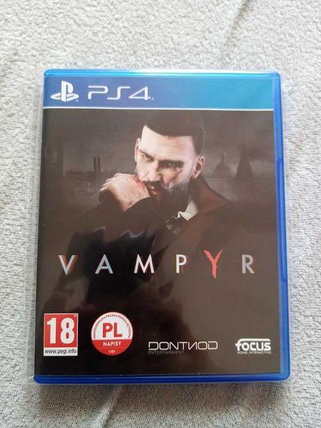 Gra Vampyr PS4 playstation 4 pro pl