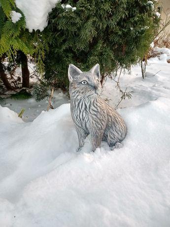Sprzedam Figurkę ogrodową -Kot. Jak żywa.