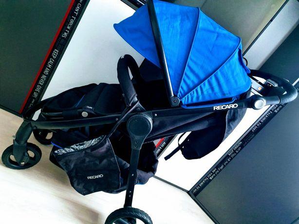 Wózeķ Recaro Citylife spacerowy +gondola 2w1