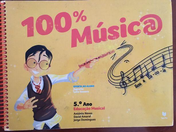100% Música 5 ano & 100% Música 6 ano – Manuais do aluno