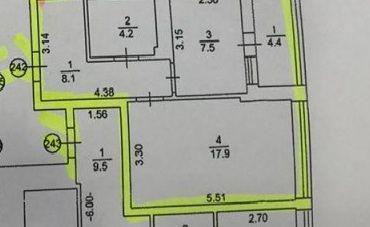 Продажа 1 комнатной квартиры Лесной Квартал, Киевская 249а