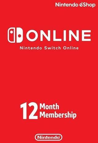 Subscrição Anual Nintendo Switch