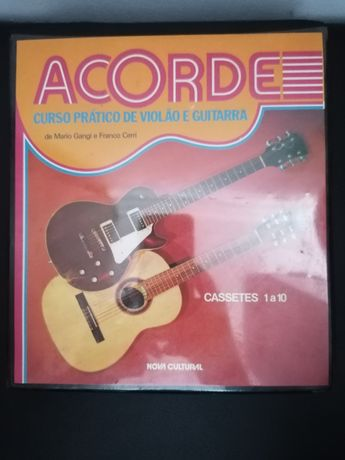 Curso de guitarra (em cassete áudio)