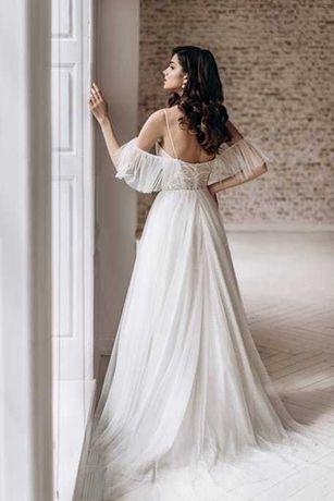PIĘKNA Suknia Ślubna Crystal | Sprawdź !!!