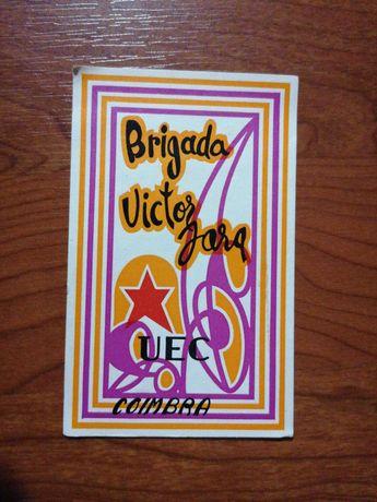 Brigada Vítor Jara - relíquia autocolante