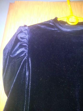 Sukienka Głęboki granat Róż L Firmy SHEIN Nowa Aksamit