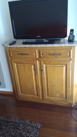 Móvel de madeira de canto para bar e para Televisão