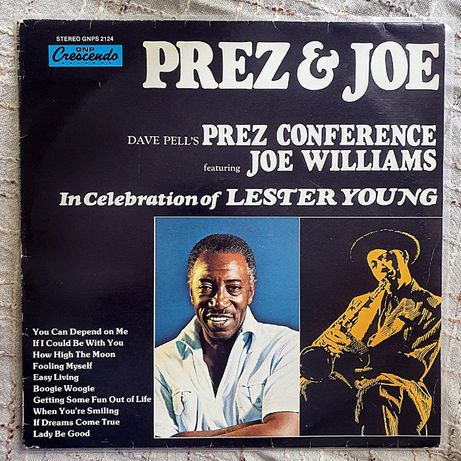 Dave Pells Prez Joe Williams EX+