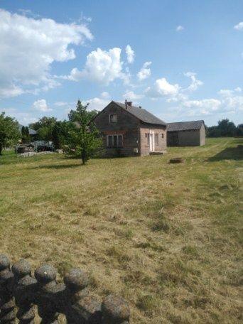 Duża działka z domem gmina Kleszczów