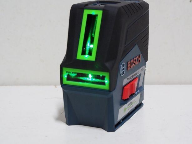 Laser BOSCH GCL 2-50 CG ZIELONY niwelator krzyżowy