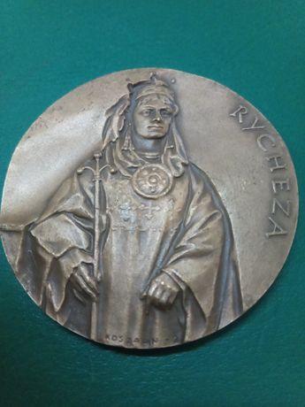 Medal Mieszko II , Rycheza brąz