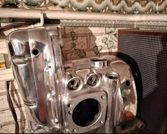 Продаётся двигатель Урал 12 В. Маслосистема улучшена,  под радиатор,