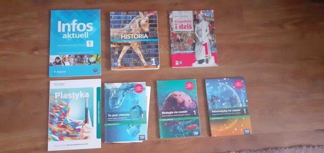 Sprzedam podręczniki do 1 kl technikum/liceum