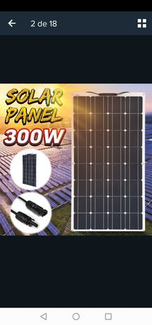 Painel solar de 18v 300watts