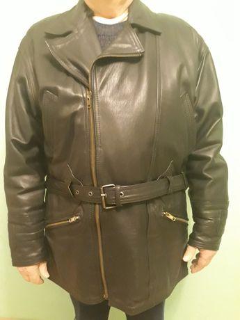 Мужская кожаная куртка.Р.56