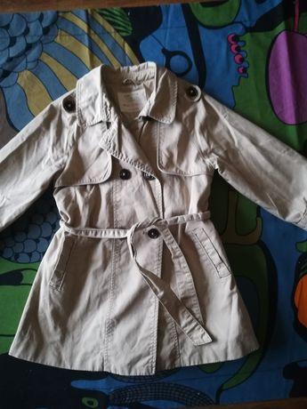 Płaszcz wiosenno-jesienny trencz Zara 110