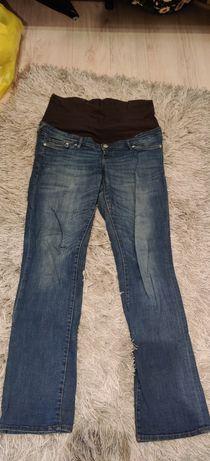 Spodnie jeansy ciążowe h&m 42