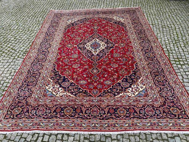 Nowy dywan kaszmirowy perski Keshan 350x250 sklep 30 tys