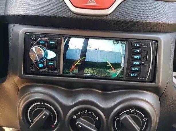 Auto-Rádio 1Din Universal 60x4w/Full-HD/Microfone incorporado NOVO