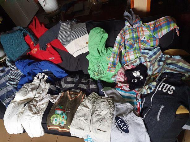 Ubranka, swetr, kurtka, kamizelka, koszula chłopiec 18-24 - 86 rozmiar