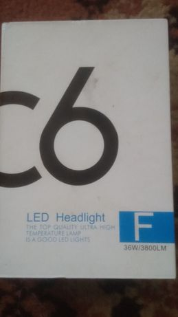 Світлодіодні лампи Н4,дальній, ближній