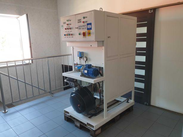 Wytwornica pary WW10/300 gaz lub olej opałowy.