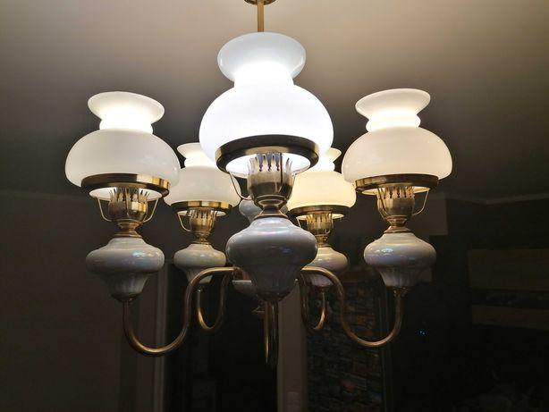 żyrandol 5  lamp