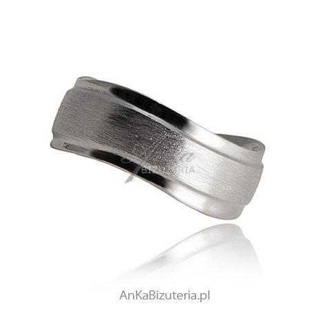 ankabizuteria.pl Kolczyki Dziecięce Etno Obrączka srebrna rodowana dia