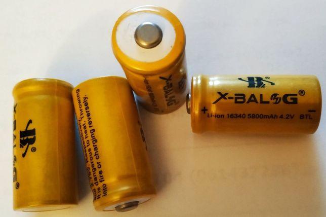 Аккумуляторная батарея 16340 5800mAH