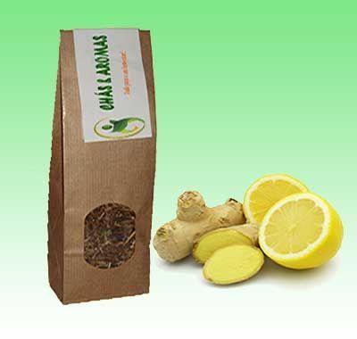 Gengibre & Limão em chá 100gr