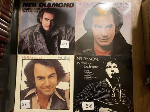 5 discos vinil Neil Diamond