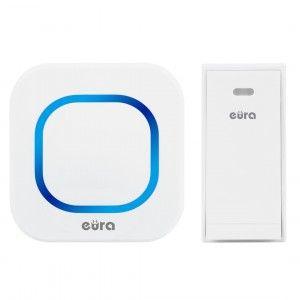 dzwonek bezprzewodowy - bezbateryjny EURA FOLK