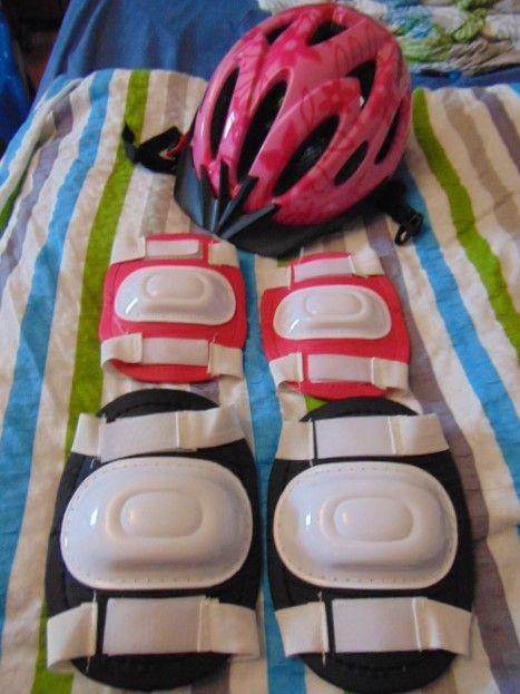 Kask na rower,hulajnoge regulowany od 48-54 oraz ochraniacze Zabrze - image 1