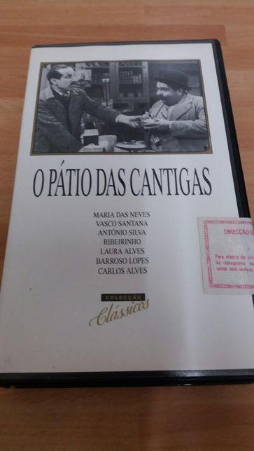 Cassete VHS: O Pátio das Cantigas (vintage)