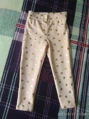Яскраві  штани-ласіни  на  дівчинку.