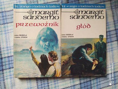 Saga o ludziach lodu Margit Sandemo tom 31 i 32
