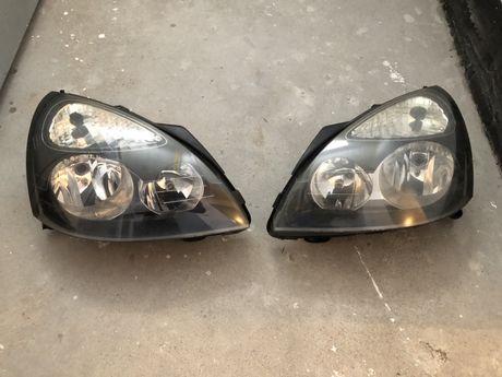 Reflektory Renault Clio 2 (anglik)