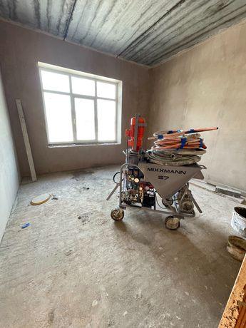 Машинная штукатурка стен и потолков в Киеве и области