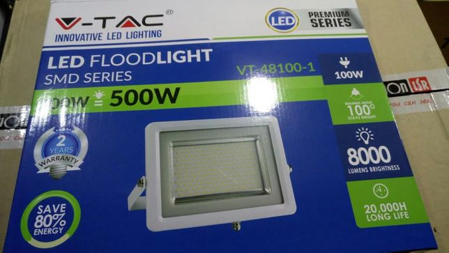 Projector Led 100w vtac