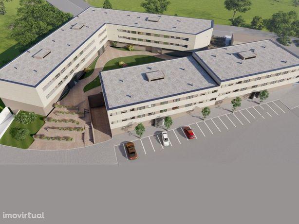Apartamento T2 novo com varanda e garagem para 2 viaturas...